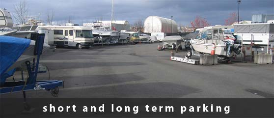 Storage parking area | short and long term parking